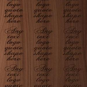 Personalized Quote Wood Engraved Si..