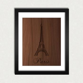 Personalized State Love Wood Engraved Sign Printable - Digital Download - Size 8x10 - Perfect Gift Idea